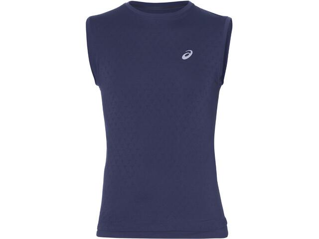 asics Gel-Cool Koszulka do biegania bez rękawów Mężczyźni niebieski